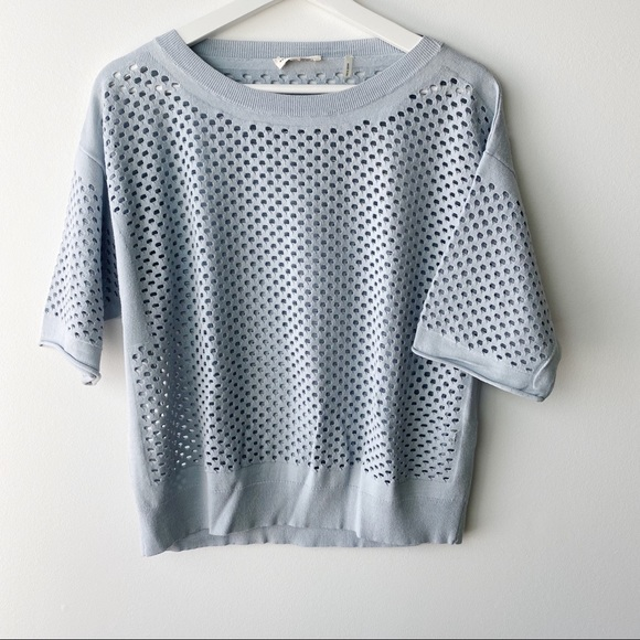 Rebecca Taylor casual knit with holes